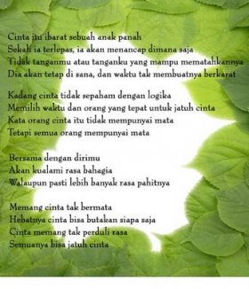 Posted in All Categories , Puisi | 1 Comment »